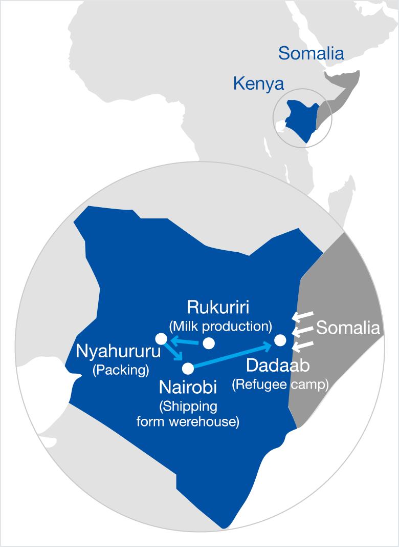 Somalia Refugee Aidn | Social Contribution | ZENSHO HOLDINGS