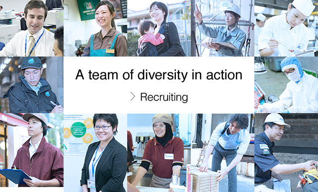 A team of diversity in action : Recruiting